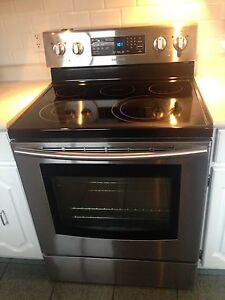 Samsung stainless steel glass top oven