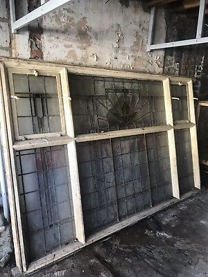 Art Deco Window And Frame