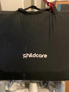 Childcare travel cot black