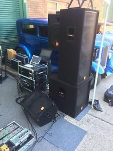 PA System  Itemised Panania Bankstown Area Preview