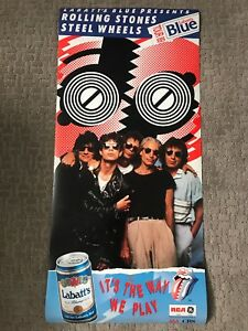 Rolling Stones 1989 Tour Poster