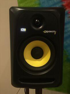 KRK's ROKIT 6 G3 Studio Active Monitor Speaker Black PAIR Burwood Whitehorse Area Preview