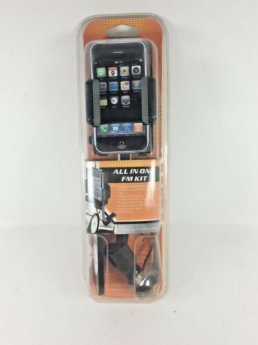 ALLKIT  All-In-One FM Transmitter Car Kit for Ipod/Touch, Iphone
