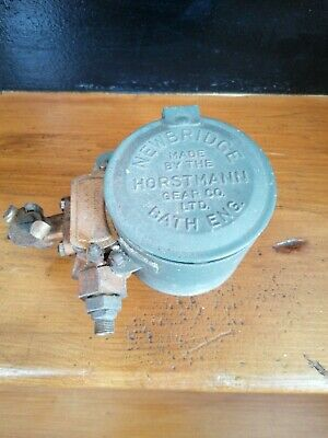 Vintage Horstmann Co Newbridge Bath Clockwork Gas Timer