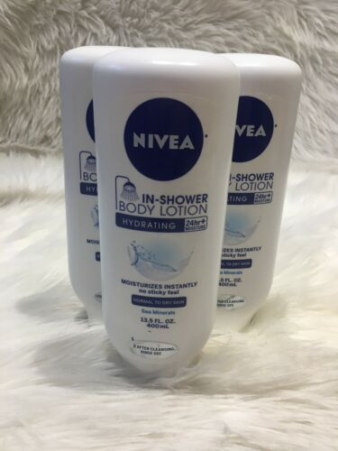 NIVEA In-Shower Hydrating Body Lotion 13.5 Fluid Ounce