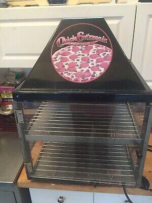 Used Restaurant Countertop Foodpizza Warmer Display Case