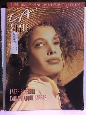 LA STYLE Magazine - July 1988 - Kareem Abdul Jabbar - Toni Childs](Kids Fashion Magazines)