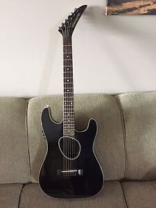 1989 Kramer Thinline Acoustic with pickup