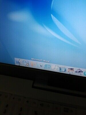 Vintage Apple M6497 IBook Laptop Works!! Microsoft Word! Awesome!