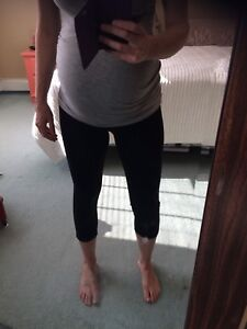Maternity Jeans and Crop Spandex/Yoga Pants