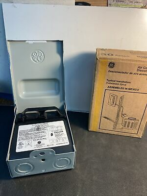 2 Ge 30-amp Fusible Enclosed Molded Case Switch Disconnect