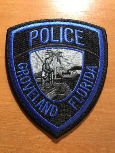 PATCH POLICE GROVELAND FLORIDA STATE