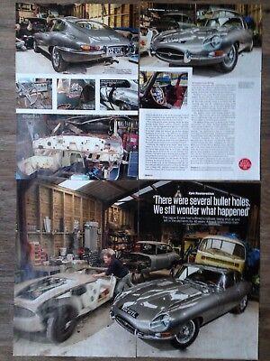 JAGUAR E-Type FHC 1962 - Classic Restoration Article