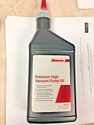 Robinair Vacuum Pump Oil 16 Oz. Part 13119