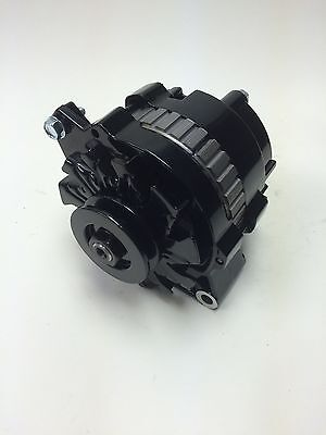 73 85 CHEVROLET ALMOST ALL ENGINES ALTERNATOR 105 AMPS BLACK POWDER COATED