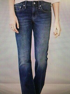 Gap Long Jeans - NWT 1969 Gap Mid Rise Long & Lean Indigo boot cut Jeans 29 Short  #101036