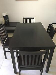 Dining Table, 4 x Chairs , Coffee Table - Furniture Package Golden Beach Caloundra Area Preview