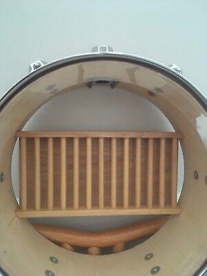(bespoke drum Cd Holder (drummer, studio,home decor) )
