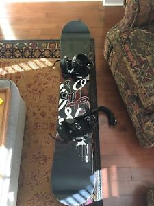 Rossignol/Firefly Snowboard, Boots, Helmet and Goggles