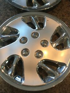 Snow Tire Cosmetic Wheel Covers (4) Faux hubcap
