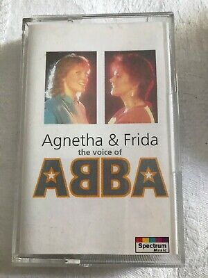 ABBA Agnetha & Frida The voice of ABBA Rare cassette in excellent condition