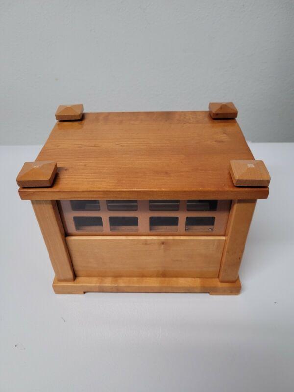 Falling Rain Nature Chimes Wood Music Box Ball Gentle Zen Sound