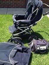 Bertini bidwell steerable pram and toddler seat Delacombe Ballarat City Preview