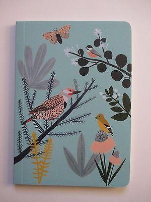 F Chicago School birds NOTEBOOK Journal blank book 80 pg each Roger la Borde
