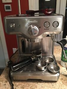 Machine expresso breville duo temp