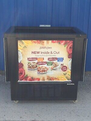 Aucma Open Top Load Reach In Display Cooler
