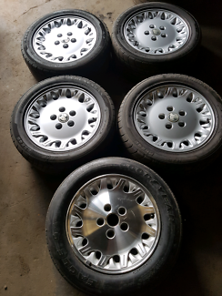 Vs calais 16 inch wheels and tyres commodore vn vr vt vx vy vz