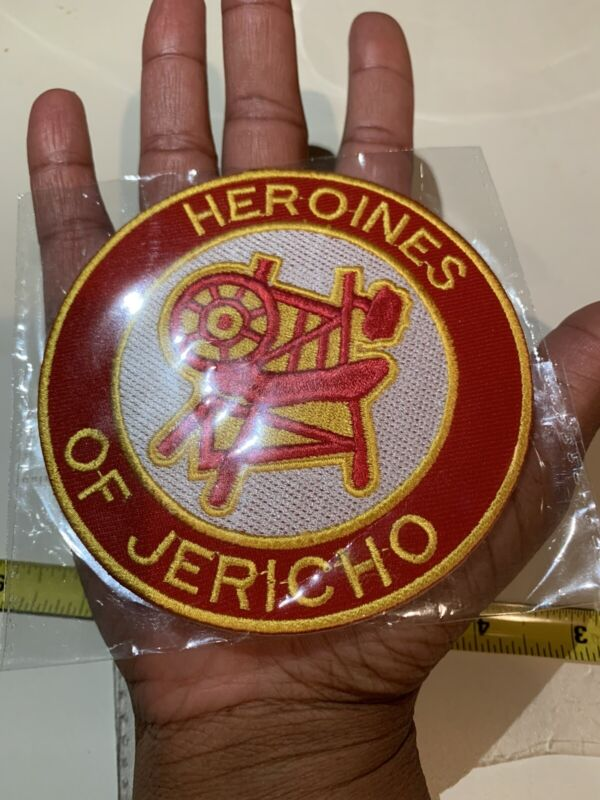 Masonic Heroines of Jericho(HOJ) Sew On patch
