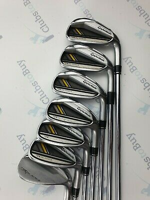 TaylorMade Rocketbladez Irons Mens Right Hand Regular Flex Steel 5 - SW.