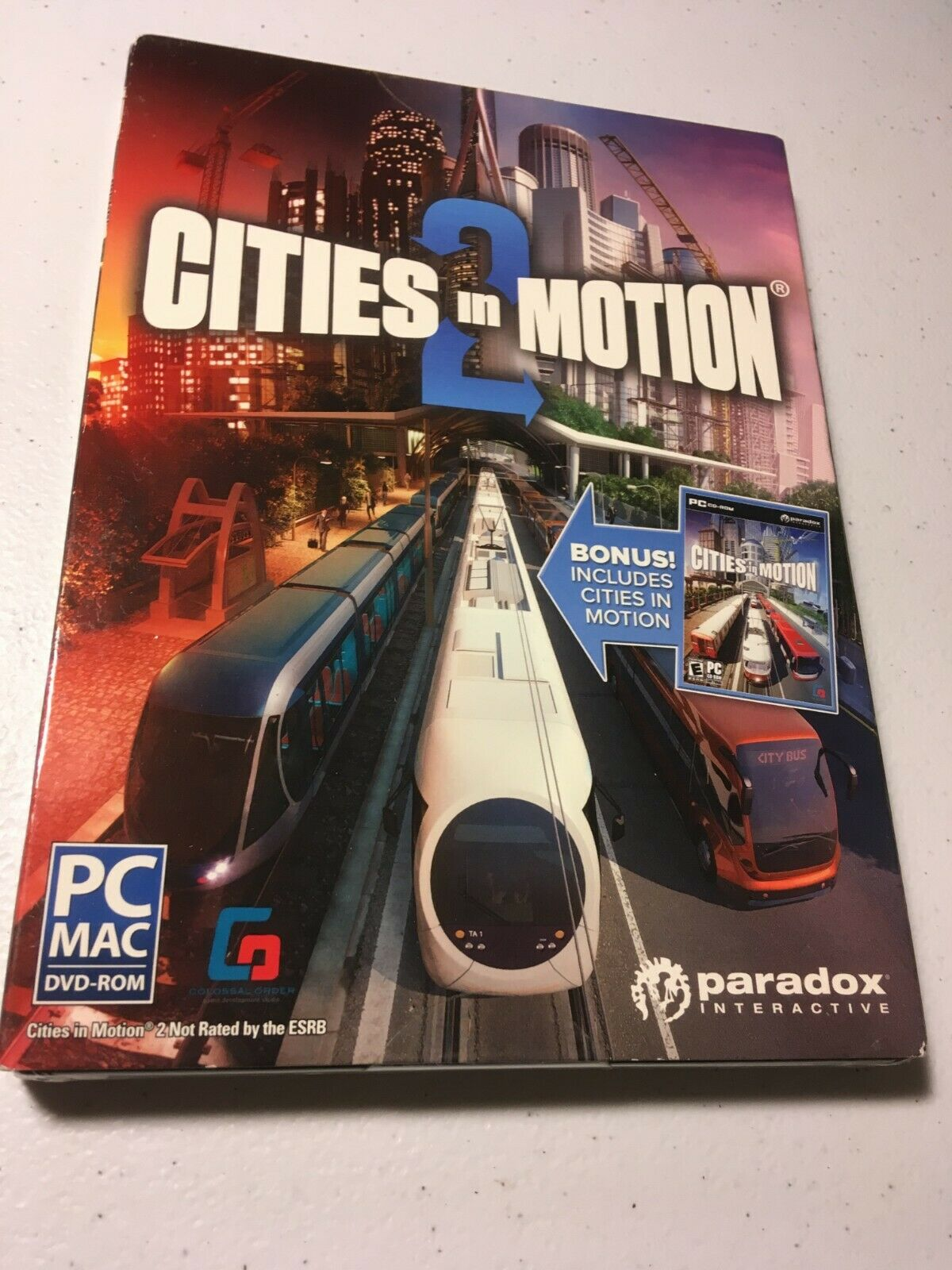 Computer Games - Cities In Motion 2 PC Games Windows 10 8 7 XP Computer simulation sim city NEW