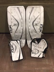 Reebok premier 2 pads and gloves
