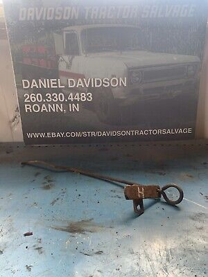 Farmall Ih- H Early Sh Tractor Pto Power Take Off Engagement Rod And Bracket