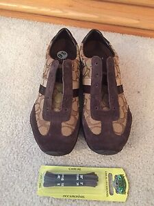 Brand new coach signature shoes never used