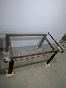 (150 cm x 90 cm) Glass top Dining table -$30 (negotiable) Chatswood West Willoughby Area Preview