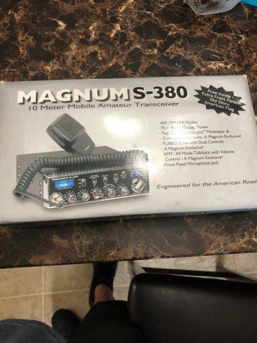 Magnum S-380 10 Meter Radio Super Nice. Buy it now for 349.00