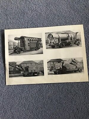 Johnston Brothers Ltd - Original Photo's Print From The Early 1950's. Very Rare.