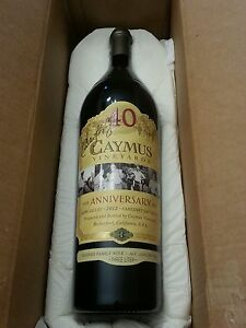 FREE CAYMUS 40TH ANNIVERSARY WITH PURCHASE OF MY AUTOGRAPH