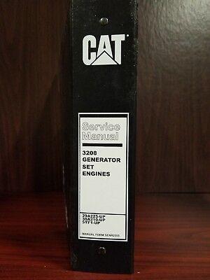 Cat 3208 Generator Set Engines - Operation Service Manual - Senr2555-13