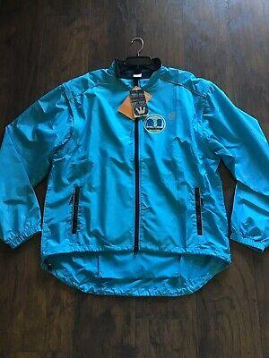 New Vest Men/'s US Medium BLK Mavic Aksium Thermal Convertible Cycling Jacket