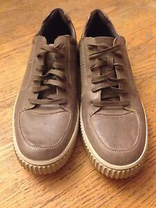 John varvatos star u.s.a Bedford leather low-top sneakers