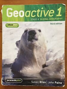 Geoactive 1 Stage 4 Global Geography Third Edition Hewett Barossa Area Preview