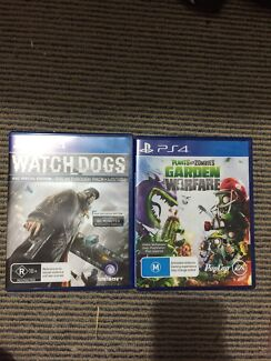 Ps4 games x 2 $20 each  Sunnybank Brisbane South West Preview