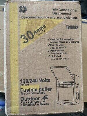 New Ge 30 Amp 120240-volt 240-watt Fused Ac Disconnect