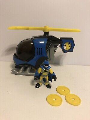 IMAGINEXT DC SUPER FRIENDS BATCOPTER HELICOPTER BATMAN DISCS