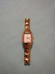 Ladies Watch with Crystals in Gold Tone Stainless Steel Rockingham Rockingham Area Preview