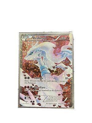 Pokemon Card TCG Reshiram FULL ART HOLO RARE Legendary Treasures RC22/RC25